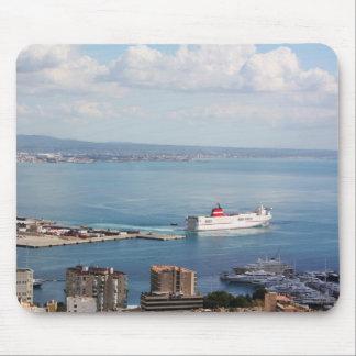 Mallorca sea view mouse pad