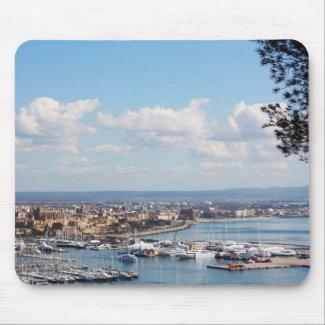 Mallorca seascape mousepad