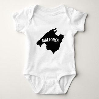 mallorca spain contour icon t-shirts
