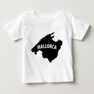 mallorca spain contour icon tshirts