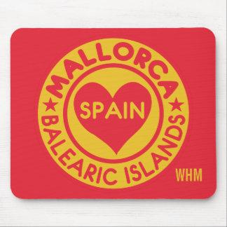 MALLORCA Spain custom monogram mousepad