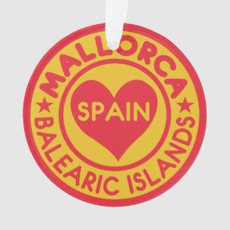 Mallorca Spain custom ornament