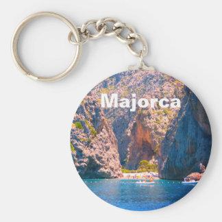 Mallorca, Spain Torrent de Pareis Travel Souvenir Keychain