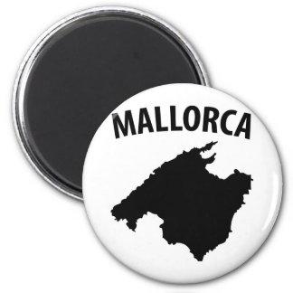 mallorca symbol 2 inch round magnet