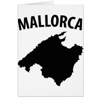 mallorca symbol greeting card