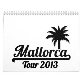 Mallorca Tour 2013 Calendar