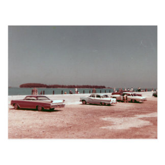 Mallory Dock Key West 1960s Vintage Post Card