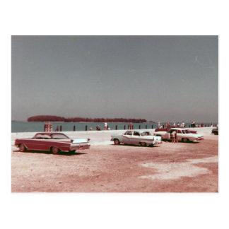 Mallory Dock Key West 1960s Vintage Postcard