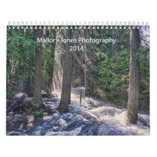 Mallory Jones Photography 2014 calendar
