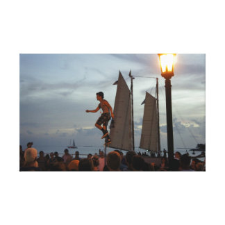 Mallory Square Stretched Canvas Prints