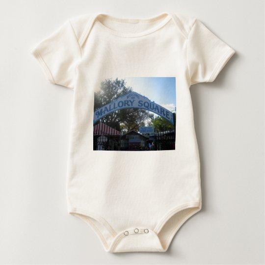 Mallory Square, Key West Baby Bodysuit