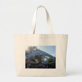 Mallory Square, Key West Canvas Bag