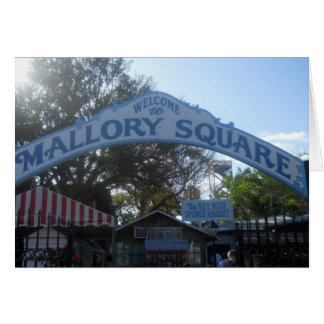 Mallory Square, Key West Greeting Cards