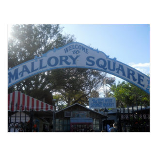 Mallory Square, Key West Post Card