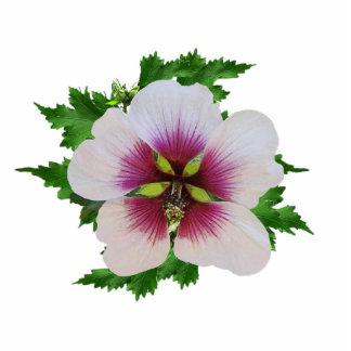 Mallow Flower Pin Cutout