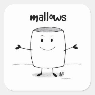 Mallow Hugs Stickers