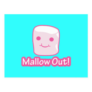 Mallow Out! Postcard