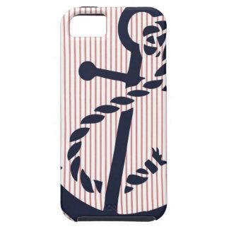 Mally Mac NAUTICAL Anchor stripe iphone 5  case