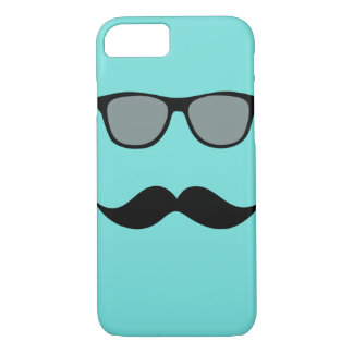 Mally Mac Sunglasses & Mustache iPhone 7 case