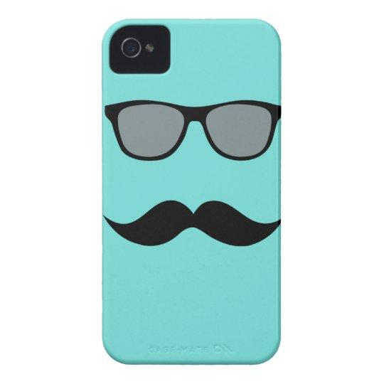 Mally Mac Sunglasses & Mustache iPhone Case