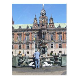 Malmö Suecia - ayuntamiento Postal