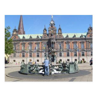 Malmö Suecia - ayuntamiento Postales