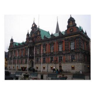 Malmö Suecia - ayuntamiento Tarjetas Postales