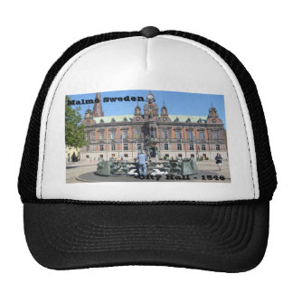 Malmö Sweden - City Hall Trucker Hat