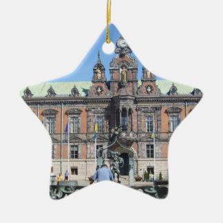 Malmö Sweden - City Hall Christmas Tree Ornament