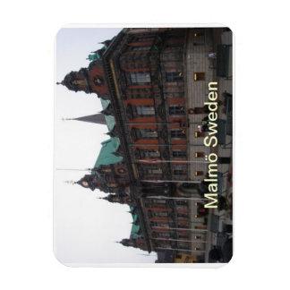 Malmö Sweden - City Hall Rectangular Photo Magnet