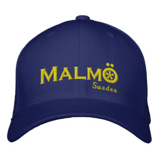 Malmo Sweden Embroidered Hat