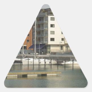 Malmö Sweden Triangle Sticker