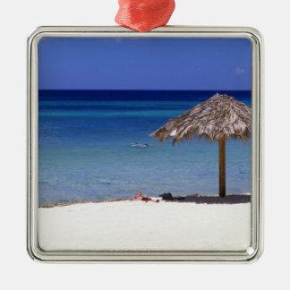 Malmok Beach, Aruba, Netherlands Antilles Metal Ornament