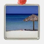 Malmok Beach, Aruba, Netherlands Antilles Christmas Ornament