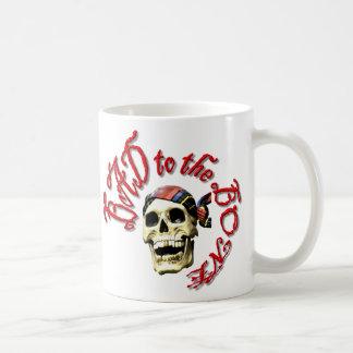 Malo al hueso taza de café