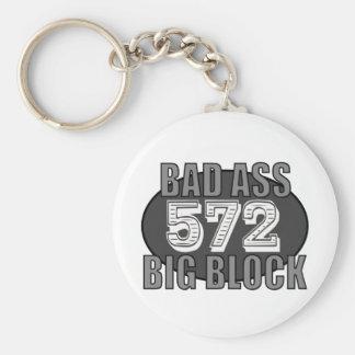malo grande 572 del bloque llavero personalizado
