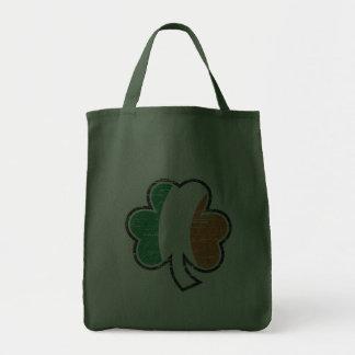 Malo irlandés del trébol bolsa tela para la compra