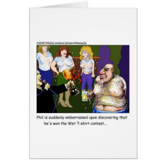Malo moje los regalos y las camisetas divertidos tarjeta de felicitación