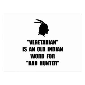 Malo vegetariano postal