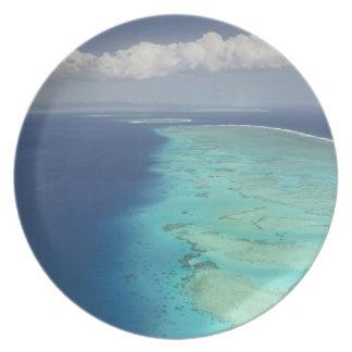 Malolo Barrier Reef off Malolo Island, Fiji Dinner Plate