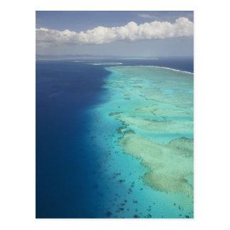 Malolo Barrier Reef off Malolo Island, Fiji Postcard