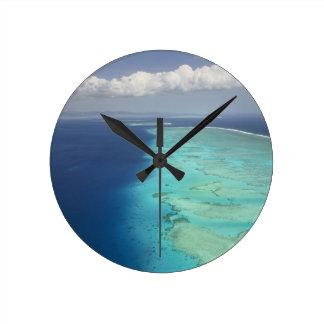 Malolo Barrier Reef off Malolo Island, Fiji Round Clock