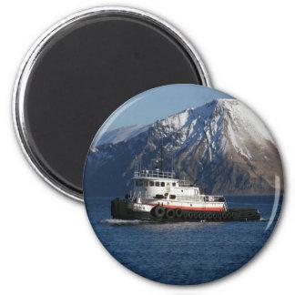 Malolo, remolcador en el puerto holandés, AK Iman Para Frigorífico