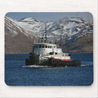 Malolo, remolcador en el puerto holandés, AK Tapete De Raton