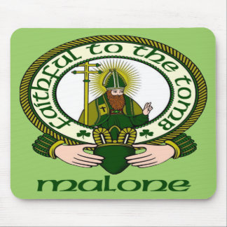 Malone Clan Motto Mouse Pad