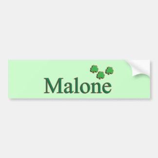 Malone Family Bumper Sticker