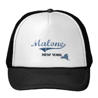 Malone New York City Classic Hats
