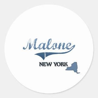 Malone New York City Classic Sticker