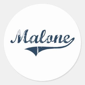 Malone New York Classic Design Sticker