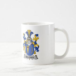 Maloney Family Crest Coffee Mug